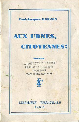 Aux urnes citoyennes