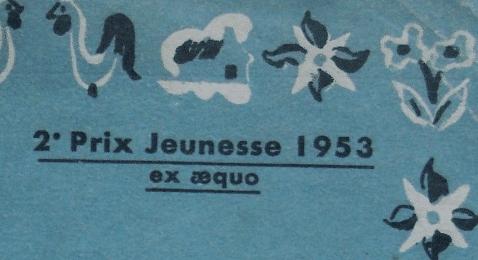 2e prix jeunesse 1953